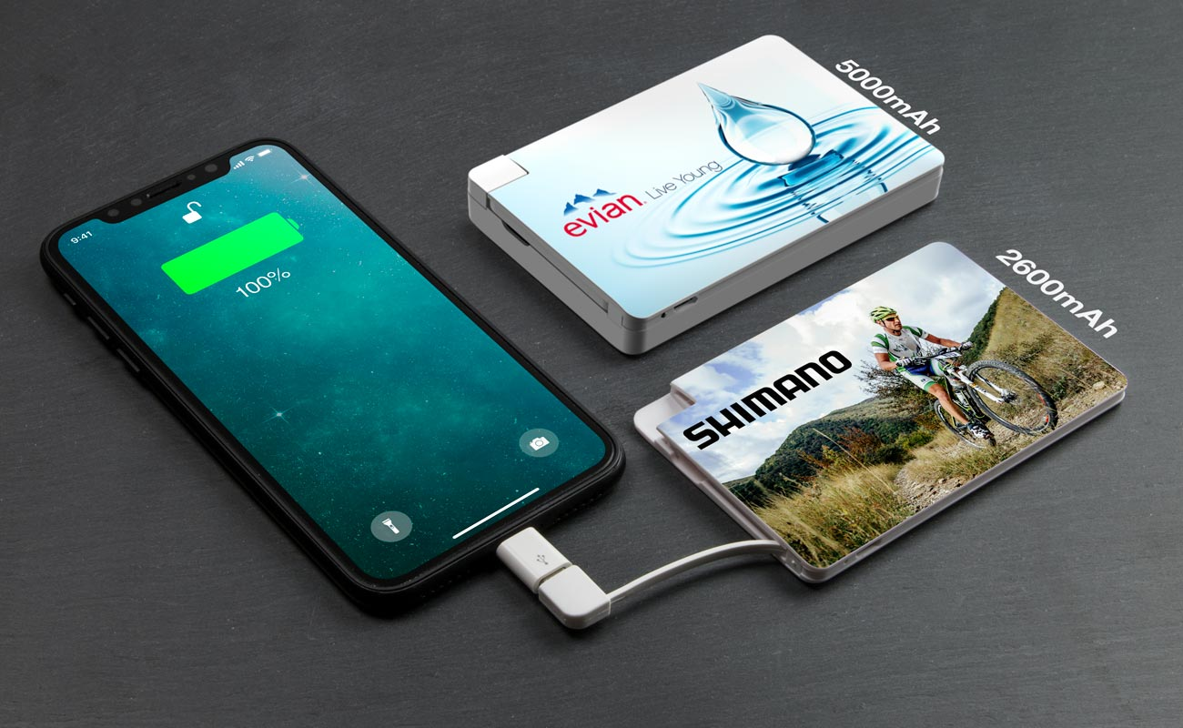 Card - Power Bank Personalizzati