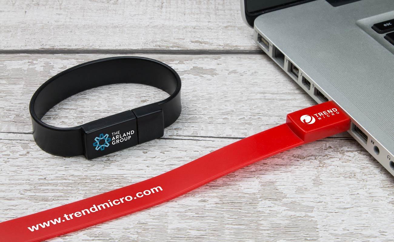 Lizzard - Braccialetti USB Personalizzati