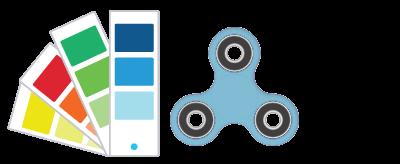 Referenze Pantone ® Fidget Spinner