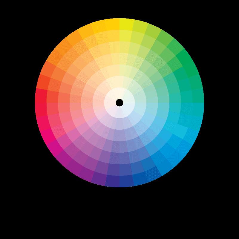 Fin Scelta del colore Pantone