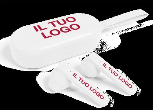 Duet - Auricolari True Wireless con logo
