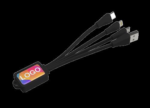 Multi - Cavo USB di Ricarica con Logo per Octopus