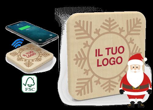 Forest Christmas - Caricatore Wireless Personalizzazione