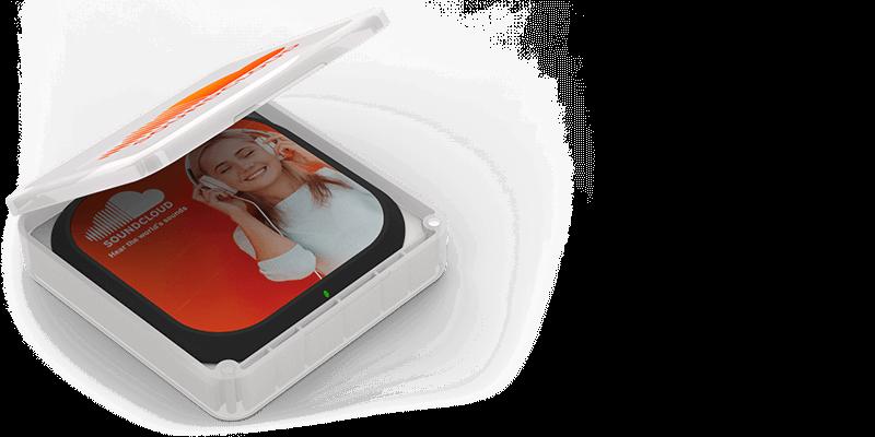 Aero - Caricatore Wireless Personalizzati