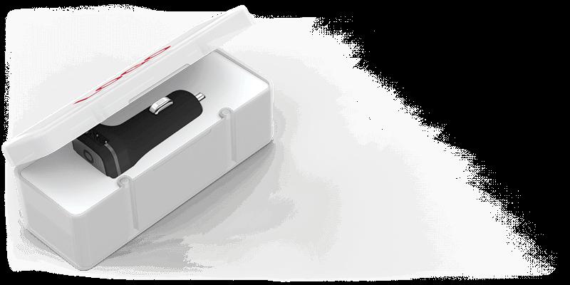 Zip - Caricabatteria per Auto USB Personalizzazione