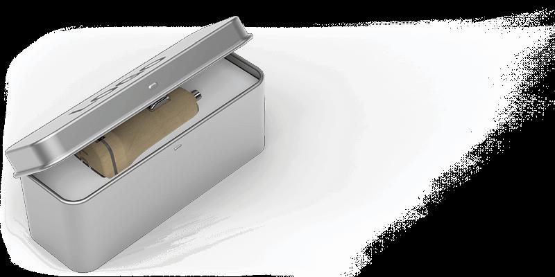 Woodie - Caricabatteria per Auto USB Personalizzati Torino