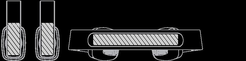 Cuffie con Bluetooth® Serigrafia