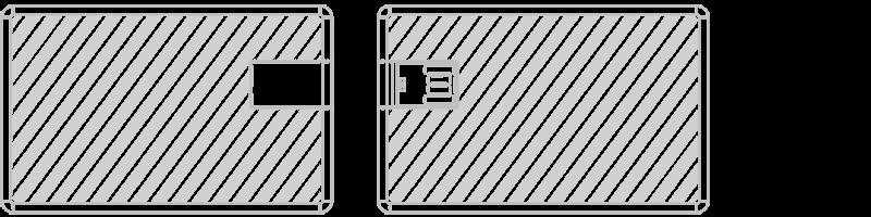 Carta USB Serigrafia
