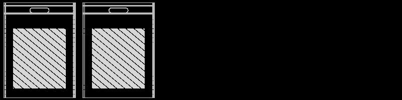 Borsa con tracolla Stampa Fotografica