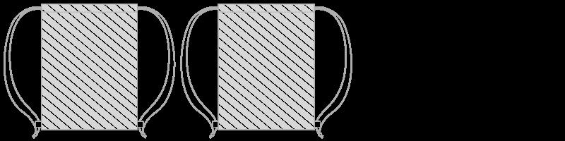 Borsa regolabile con laccio Stampa Fotografica