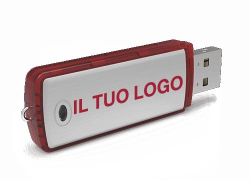 Classic - Chiavetta USB Personalizzata