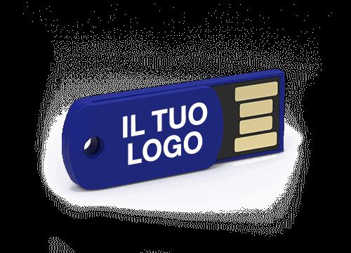 Clip - Chiavette USB con clip ferma-fogli logate