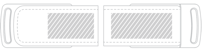 Chiavetta USB Serigrafia