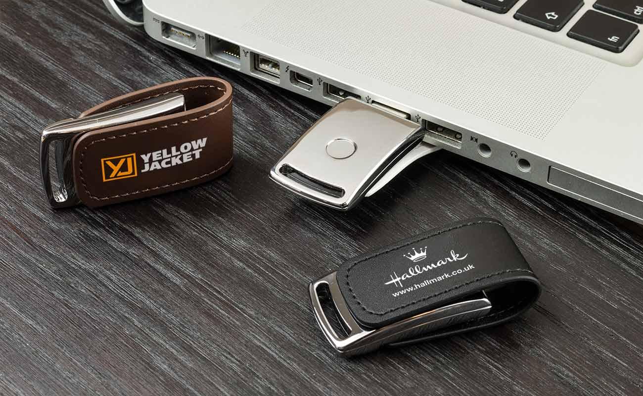 Executive - USB Pelle