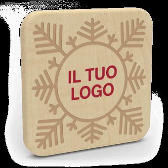 Forest Christmas - Personalizzazione Caricatore Senza Fili