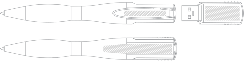 Penna USB Serigrafia