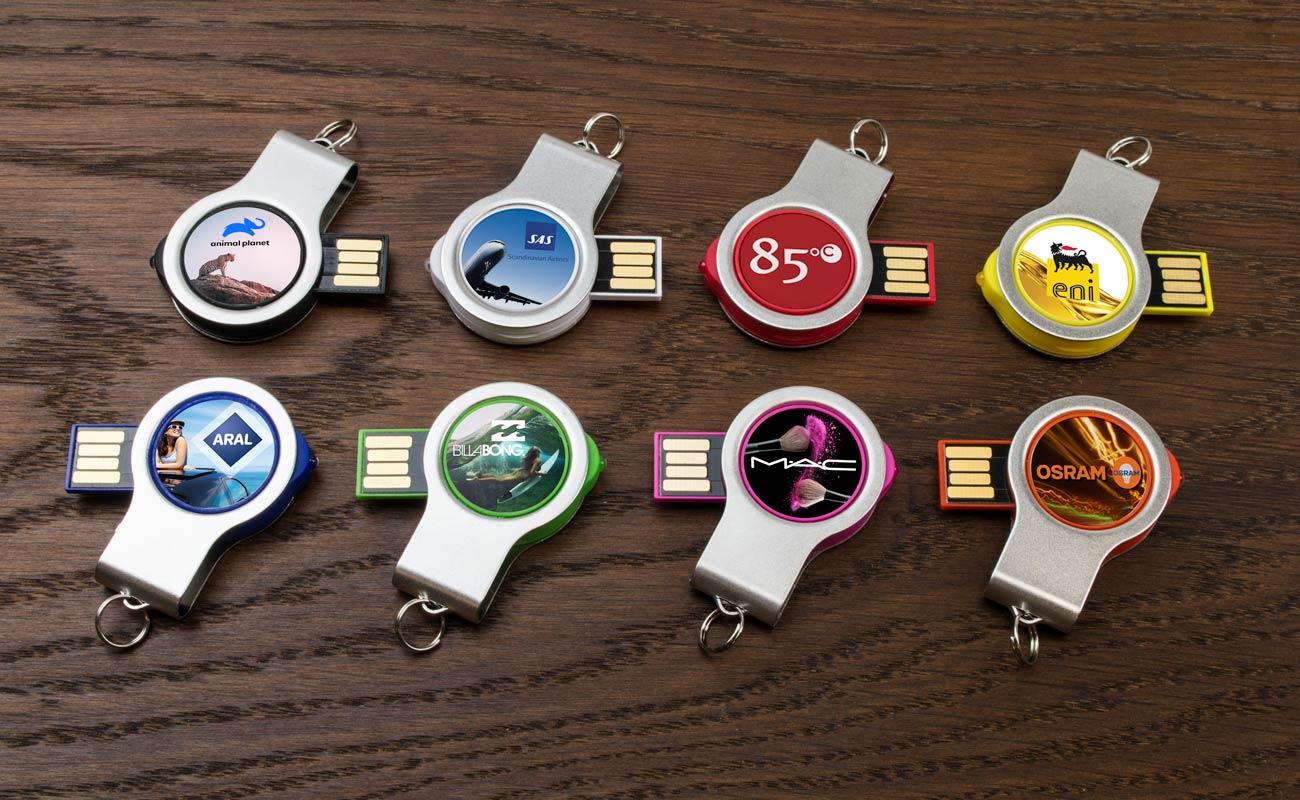 Light - Chiavette USB personalizzate con luce LED