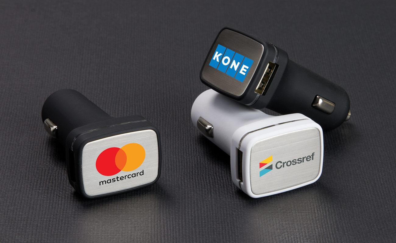 Zip - Caricabatteria per Auto USB Personalizzati