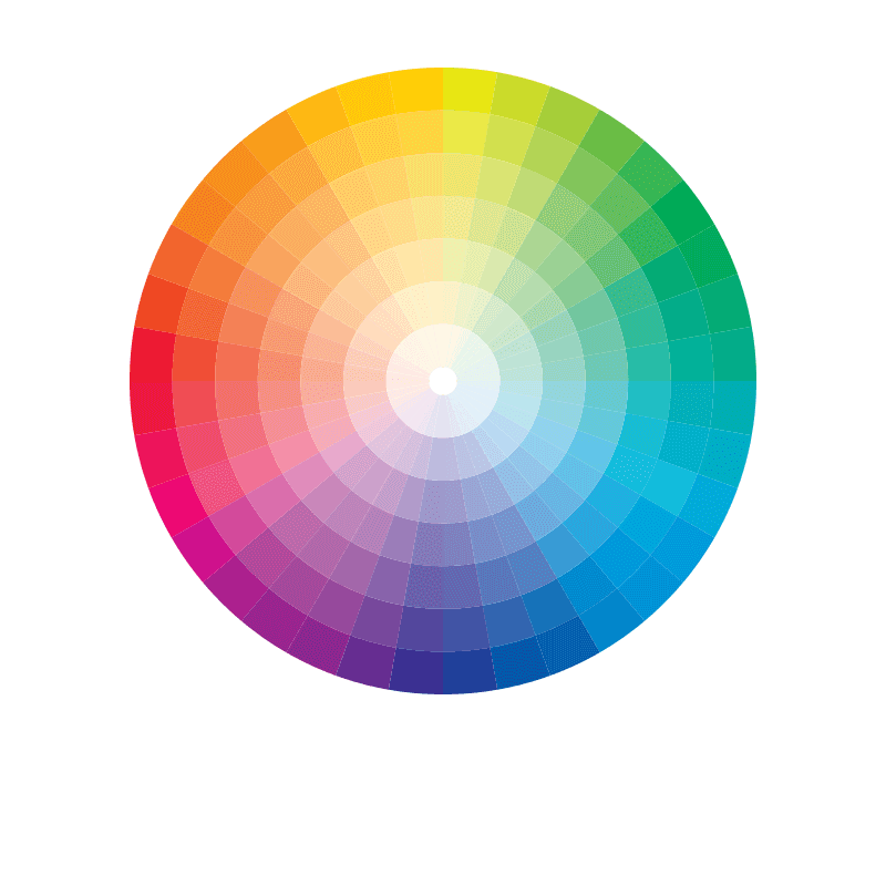 Light Scelta del colore Pantone